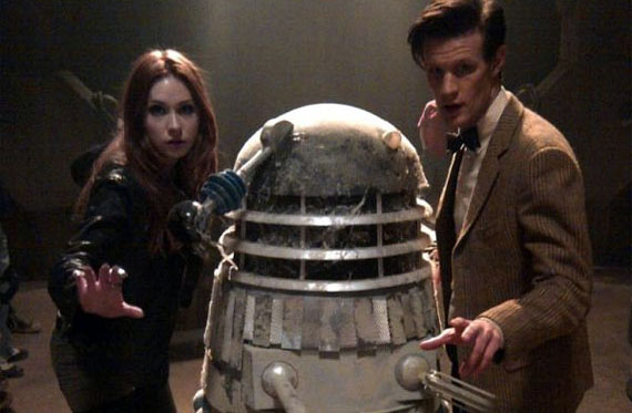 matt-smith-karen-gillan-60s-dalek-series-7