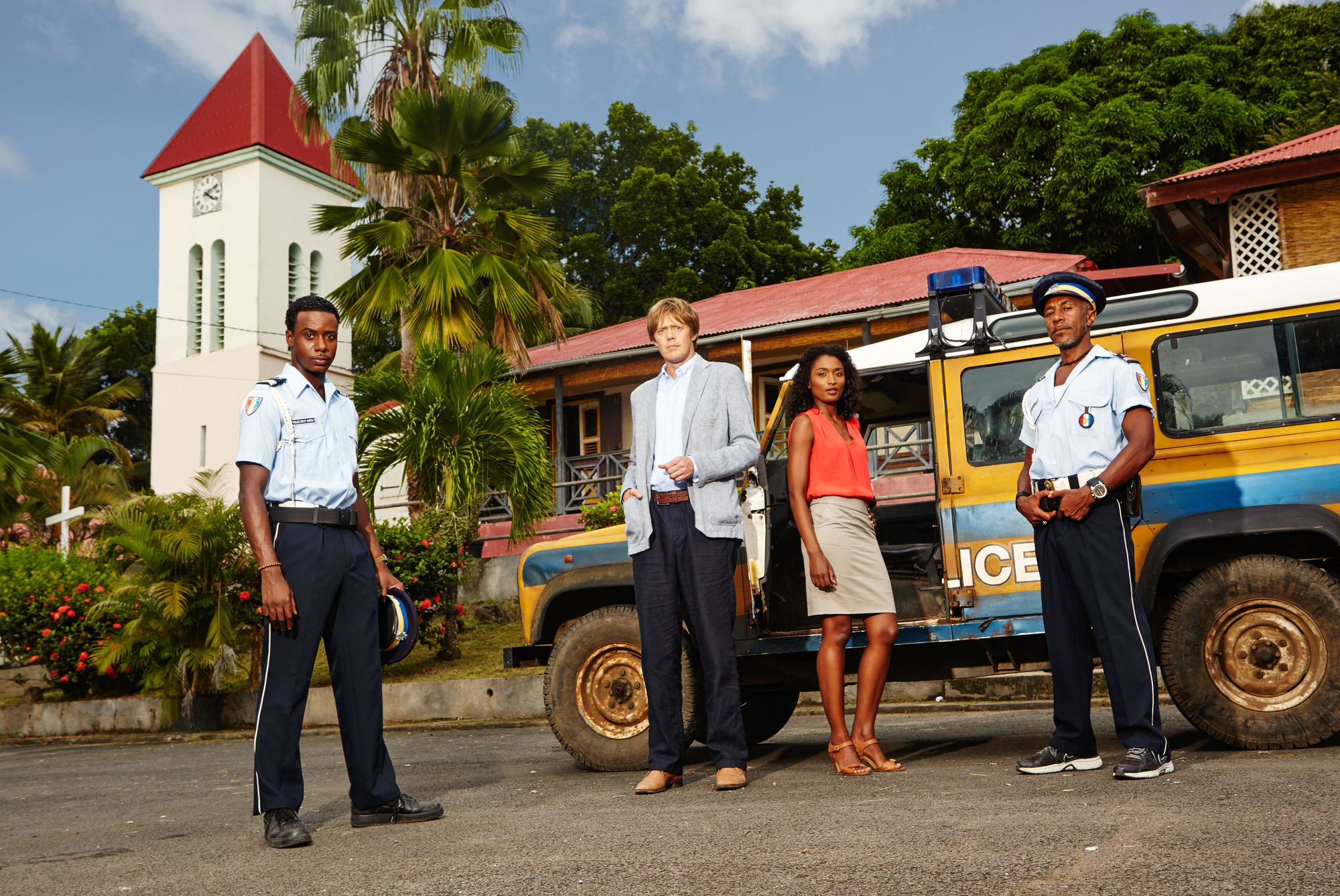 Death in Paradise Series Three First Promotional Pictures ...