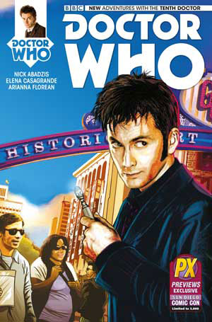 Titan Has Today Released Their Alternative Comic Covers For Issue One Of Tenth And Eleventh Doctor Book Series More Information