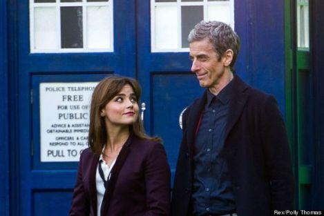 'Doctor Who' TV series filming, Hadyn Ellis Building, Cardiff University, Wales, Britain - 18 Mar 2014