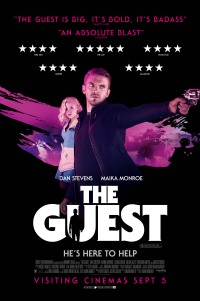 Poster for 2014 psychological thriller The Guest