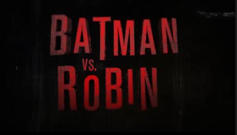 Batman vs Robin 1