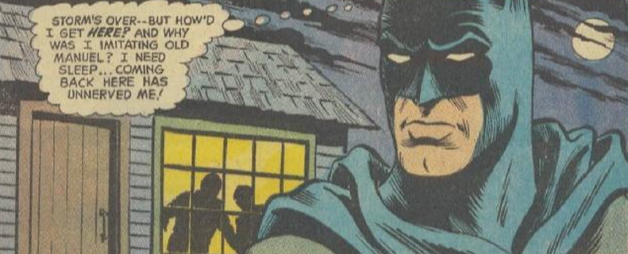 Batman the man who murdered the past 2