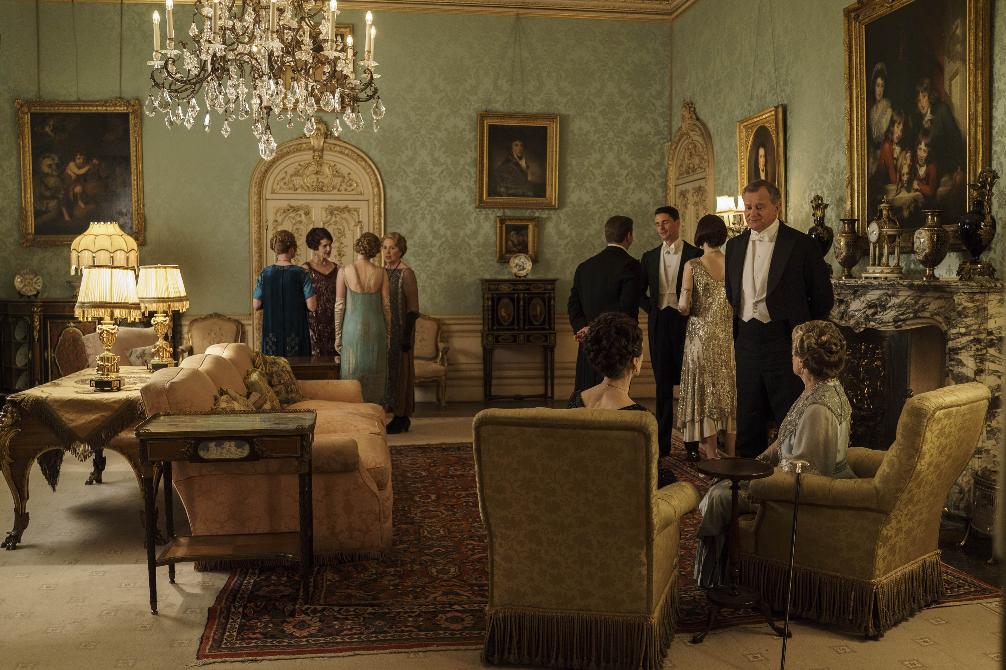 Downton Abbey Serie