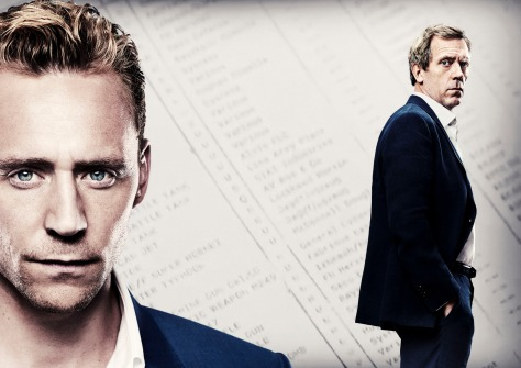 Tom Hiddleston & Hugh Laurie in The Night Manager