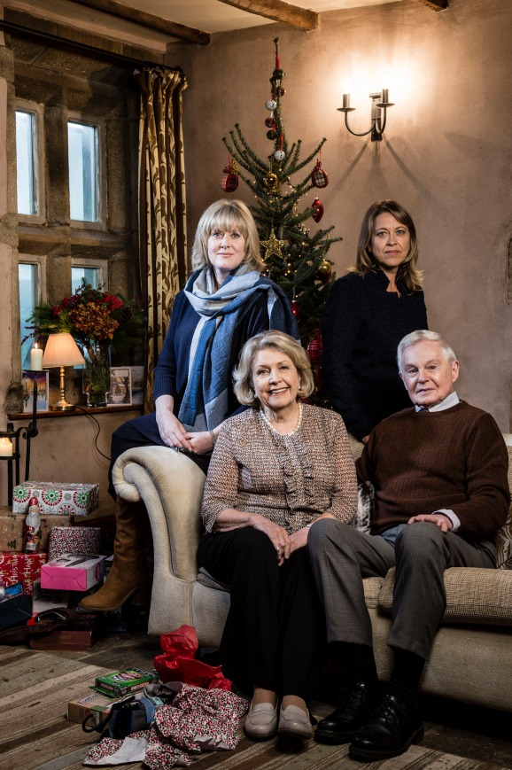 the bbc have today released promotional pictures for the christmas special of last tango in halifax the award winning series written by sally wainwright